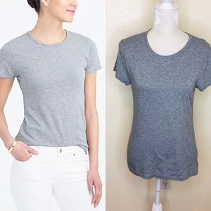 J. Crew Studio Tee in Gray